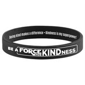 Be A Force For Kindness 2-Sided Silicone Bracelet