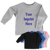 100% Cotton Toddler/Child Long-Sleeve T-Shirts - Personalization Available