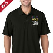 Teamwork Men's Mesh Pique Polo - Personalization Available
