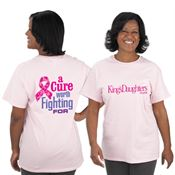 A Cure Worth Fighting For Awareness T-Shirt With Personalization