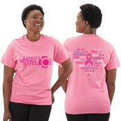 Words Of Inspiration Awareness T-Shirt With Personalization