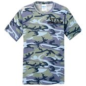 Port & Company® Men's Core Cotton Camo T-Shirt - Personalization Available