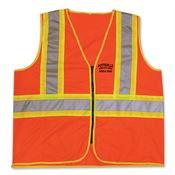 Game® D.O.T. 100% Polyester Woven Fabric Vest - Personalization Available