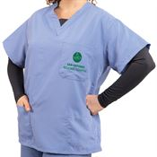 PerforMAX Power Reversible Long Sleeve Unisex Scrub Top - Personalization Available