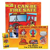 I Can Be Fire Safe Grade Pre-K Thru Kindergarten Value Kit