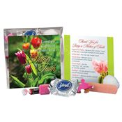 A Family's Greatest Treasure Is A Mother Of Faith Appreciation Gift Set