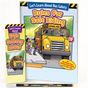 Let's Learn About Bus Safety Rules Grades 1-3 Value Kit