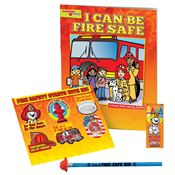 Grades Pre-K Thru Kindergarten Fire Safety Educational Activity Pack