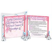Early Detection Can Help You Kiss Breast Cancer Goodbye Hershey's Kisses® Treat Pack