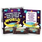 Having You On Our Team Is Out Of This World! Milky Way Snack Pack