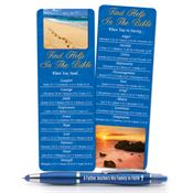 Find Help in the Bible Father's Deluxe Bookmark & A Father Anchors His Family in Faith 3-in-1 Pen/Stylus/Highlighter Gift Set