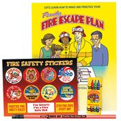 Family Fire Escape Plan Grades 3-4 Fire Safety Educational Activity Pack