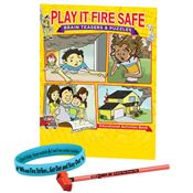 Play It Fire Safe Grades 5-6 Fire Safety Educational Activity Pack