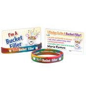 I'm A Bucket Filler Silicone Bracelet & Pledge Card