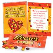 We Love Our Housekeeping Staff To Pieces! Reese's® Pieces Treat Pack
