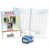 Multi-Function Pedometer With Walk Your Way To Fitness Walker's Guide - Personalization Available