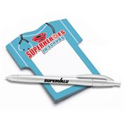 Superheroes In Scrubs Die-Cut Sticky Pad With Pen - Personalization Available On Pen
