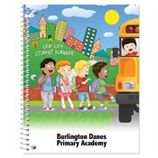 Going To School Primary School Student Planner