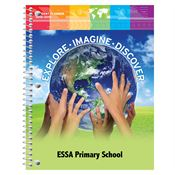 Explore - Imagine - Discover Primary School Student Planner