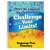 Don't Be Limited By Challenges, Challenge Your Limits Elementary School Student Planner