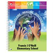 Explore - Imagine - Discover Elementary School Student Planner