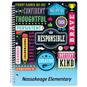 Word Cloud Elementary School Student Planner