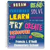 Dream, Read...Elementary School Student Planner