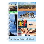 Achievement, Strength, Discovery, Commitment, Teamwork Middle School Student Planner