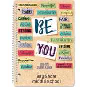 Be You Middle School Student Planner