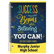 Give Your Best and Expect Success Middle School Student Planner