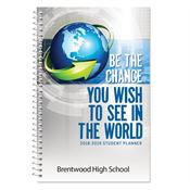 Be The Change You Wish To See In The World High School Student Planner