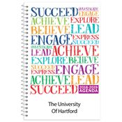 Succeed Word Cloud College Student Planner