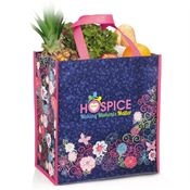 Hospice Team: Making Moments Matter Floral Non-Woven Laminated Tote