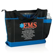 EMS: The Thin White Line Madison Tote Bag