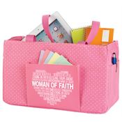 Woman Of Faith Pink Lynbrook Utility Tote