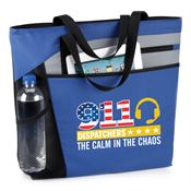 911 Dispatchers: The Calm In The Chaos Mercer Tote Bag