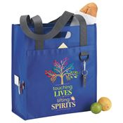 Touching Lives, Lifting Spirits Brookhaven Dual Shopper Tote Bag