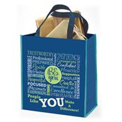 Be You, People Like You Make A Difference Large Eco Gift Tote