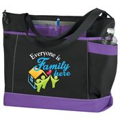 Everyone Is Family Here Madison Tote Bag