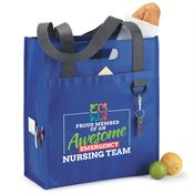 Proud Member Of An Awesome Emergency Nursing Team Brookhaven Dual Shopper Tote Bag