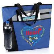 Volunteers Are The Heart Of Our Team Mercer Tote Bag