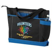 Volunteers Make The World A Brighter Place Madison Tote Bag