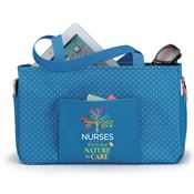 Nurses: It's In Our Nature To Care Blue Lynbrook Utility Tote
