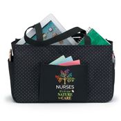 Nurses: It's In Our Nature To Care Black Lynbrook Utility Tote