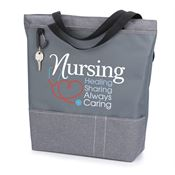 Nursing: Healing, Sharing, Always Caring Yale Tote