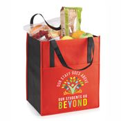 Our Staff Goes Above, Our Students Go Beyond Arbor Jumbo Shopper Tote Bag