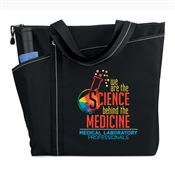 Medical Laboratory Professionals: We Are The Science Behind The Medicine Meadowbrook Tote Bag