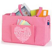 Mothers Word Cloud Lynbrook Utility Tote