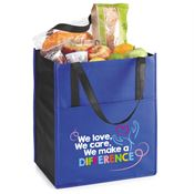 We Love, We Care, We Make A Difference Arbor Shopper Tote Bag