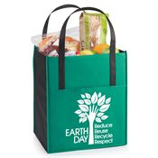 Earth Day: Reduce, Reuse, Recycle, Respect Arbor Jumbo Shopper Tote Bag